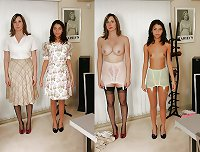 Teens Before and After dressed undressed