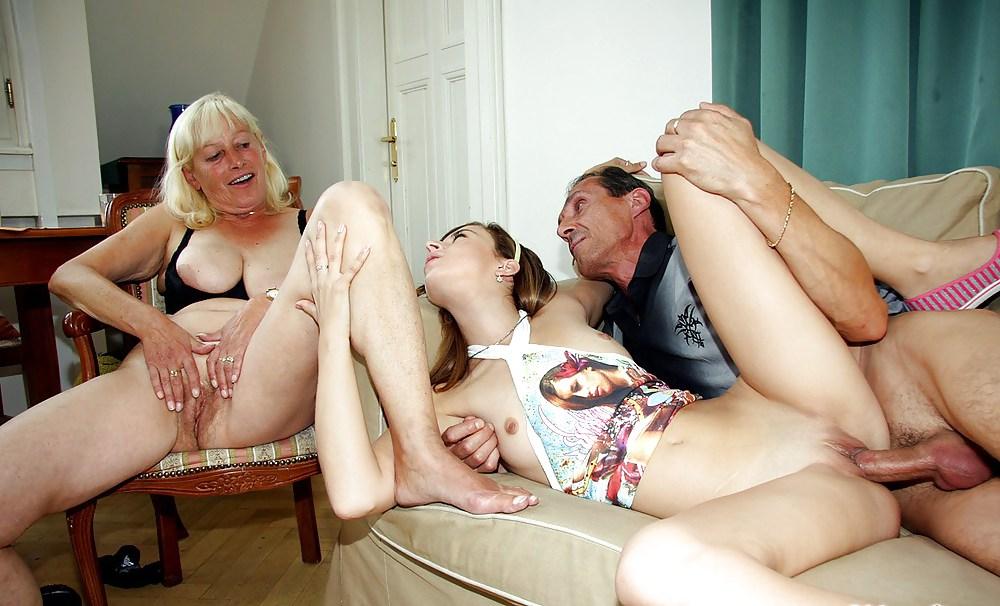 дедушка учит сексу порго